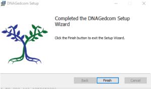 DNAGedcom Client Install Wizard