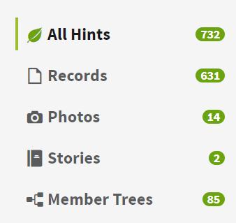 Ancestry Tree Hint - All Hints