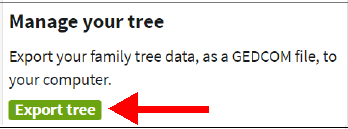 Export your Ancestry tree to gedcom