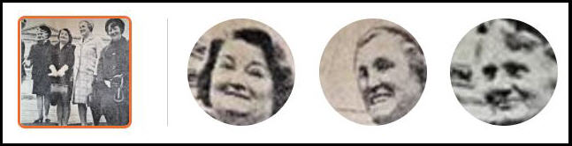 carousel of headshots isolated from the main image